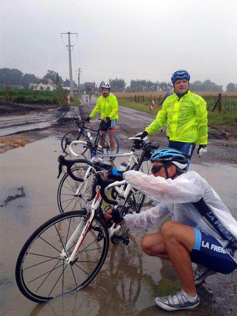 Nettoyage des vélo