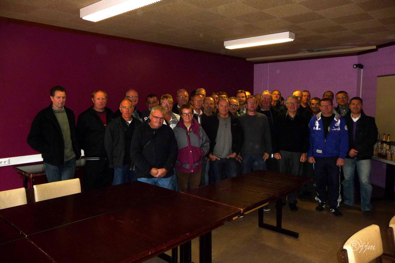 Tous les participants à l'AG 2012