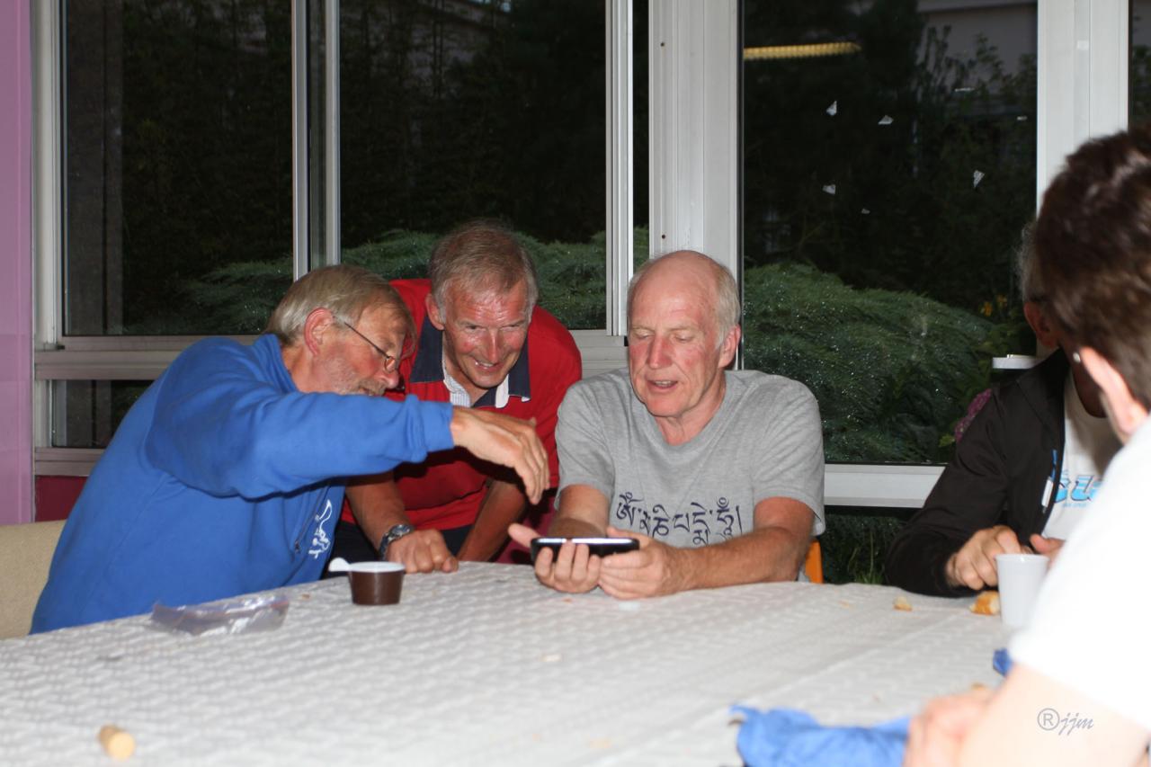 Martyn, Malcolm & Jack nos cyclos anglais