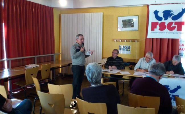 Réunion FSGT Samedi 29 novembre 2014