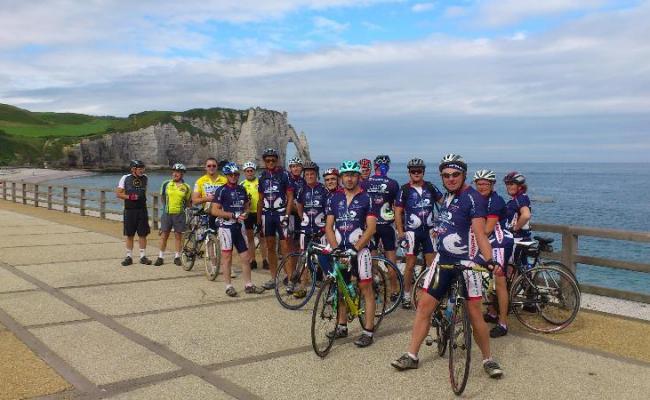 Tour de France et Cyclos Anglais vus par notre Président