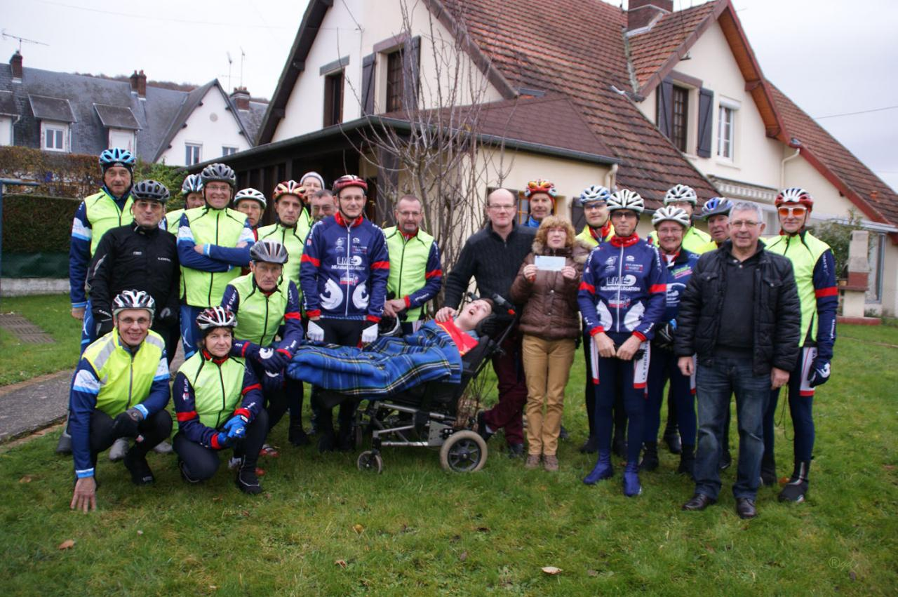 Les cyclo avec la famille Gallay