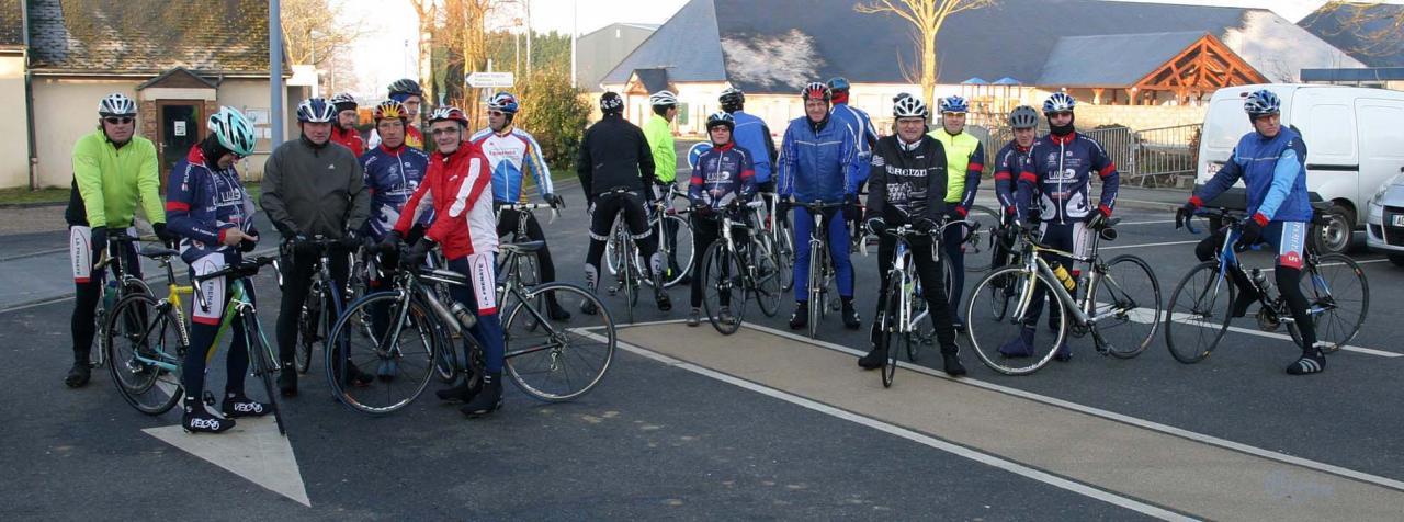 Une partie des 24 cyclo pour la reprise 2013