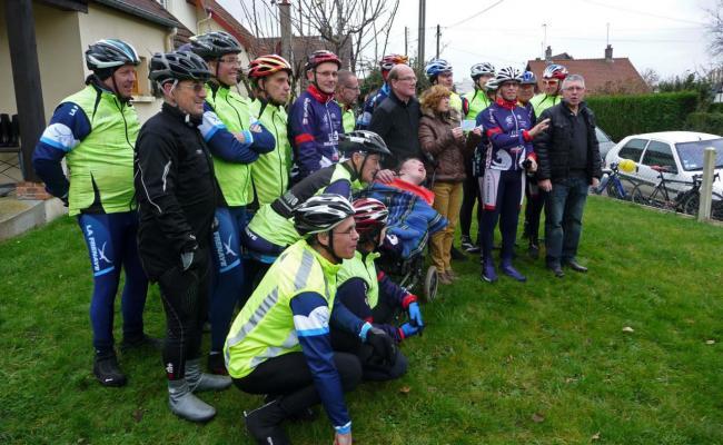 La famille Gallay & les cyclo